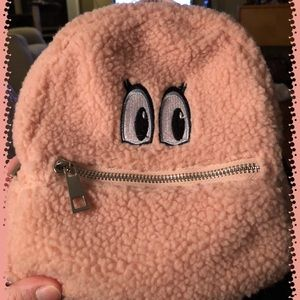 Mini Furry Backpack